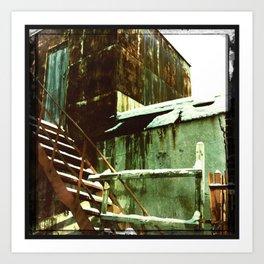 Sheds / Hangars Art Print