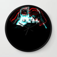 darth Wall Clocks featuring DARTH by JACK TUB