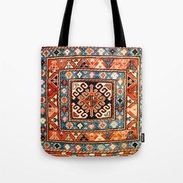 Shahsavan Sumakh Khorjin  Antique Caucasian Bag Print Tote Bag