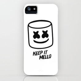 Marshmello - Keep it Mello iPhone Case