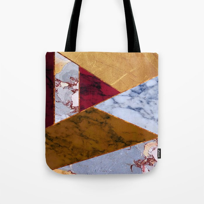 #437 Natural Textures Tote Bag