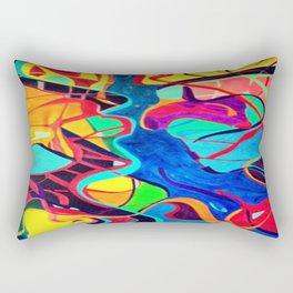 Confrontation Rectangular Pillow