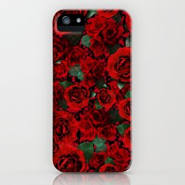 Roses on Roses iPhone Case