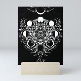 Moon Mandala Mini Art Print