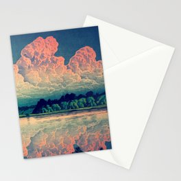 Admiring the Clouds in Kono Stationery Cards