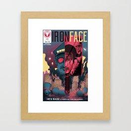 "Iron Face: Part 1 ""He's Back"" Framed Art Print"