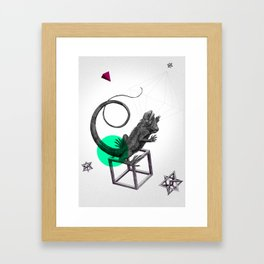 Zoologica Serie: Ambition Framed Art Print