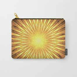 Rays of GOLD SUN abstracts Carry-All Pouch