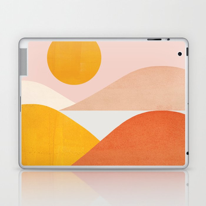 Abstraction_Mountains Laptop & iPad Skin