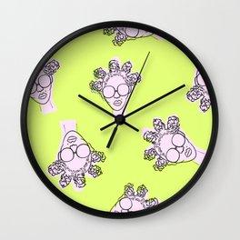 N'Dey Retro II Wall Clock