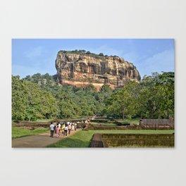 The Lion's Rock Canvas Print