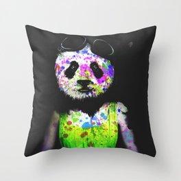 Panda Head Throw Pillow