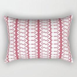 Criss Cross Jul Rectangular Pillow