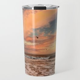 Cotton Candy Sunset Travel Mug