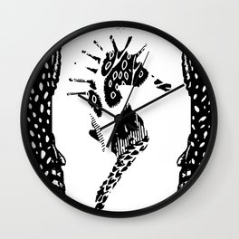 SEAHORSE 3 Wall Clock