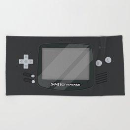 Gameboy Advance - Black Beach Towel