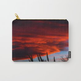 Winter Sunset Carry-All Pouch