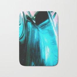 Glass Abstract Bath Mat