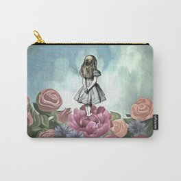 Wondering Alice Carry-All Pouch