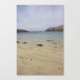 Beach Lewis and Harris 2 Canvas Print