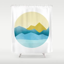 Ode to Pacific Northwest 1 Shower Curtain