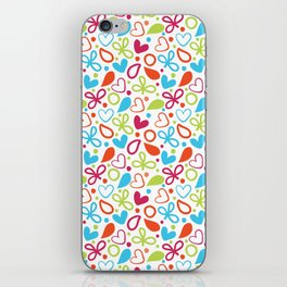 Colorful Lovely Pattern XVI iPhone Skin