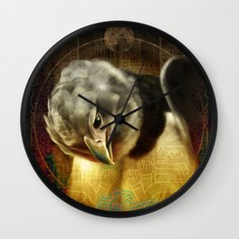 Chavin spirit Wall Clock