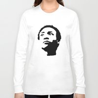 caleb troy Long Sleeve T-shirts featuring Greendale Community: Troy Barnes by Catherine
