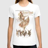 burlesque T-shirts featuring Bon-Ton Burlesque by taiche