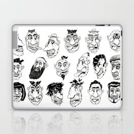 Shafted! Character sheet Laptop & iPad Skin