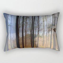 Wolf Country 2 Rectangular Pillow