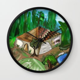your home is inside your Wall Clock