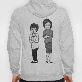 Doctor Who companions: Susan and Barbara (no text) Hoody