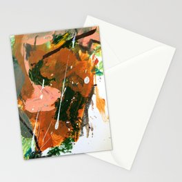 Untitled Abstract-Temper Stationery Cards