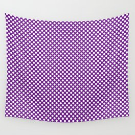 Seance and White Polka Dots Wall Tapestry