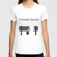 "forrest gump T-shirts featuring Film ""Forrest Gump"" by Patricia Calzado"