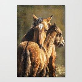 Brotherly Love - Pryor Mustangs Canvas Print
