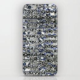Clipboard'n (P/D3 Glitch Collage Studies) iPhone Skin