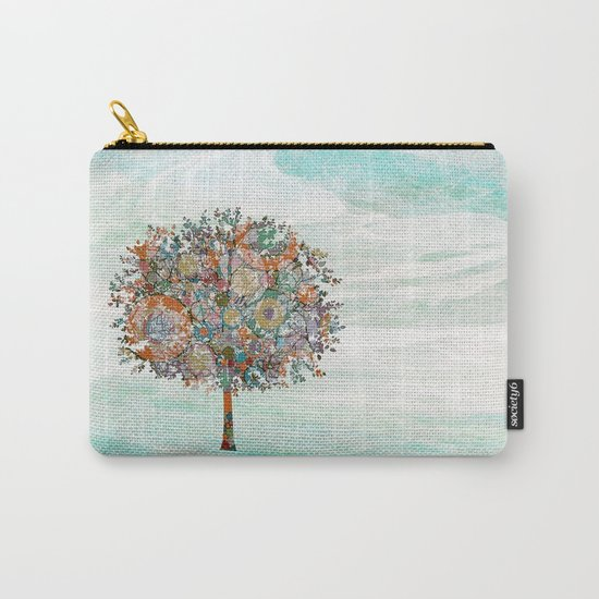 The Tree of Strength Carry-All Pouch