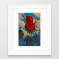 eternal sunshine Framed Art Prints featuring Sunshine Eternal  by DemarDouglas