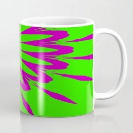 The Modern Flower Green & Purple Coffee Mug