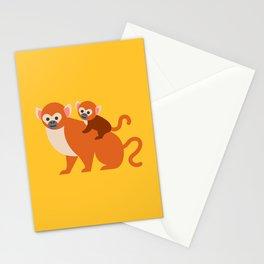 Monkey baby Stationery Cards