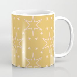 Festive Graphic Stars Design Coffee Mug