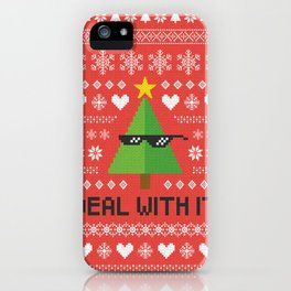 Deal with It. iPhone Case