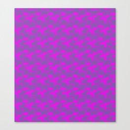 Pixelated Neon Canvas Print
