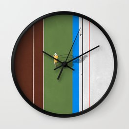 Cycling Sprinter  Wall Clock