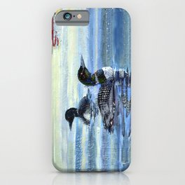 loons iPhone Case