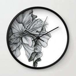 flor Wall Clock