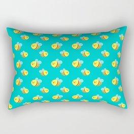 Bees - Pattern Rectangular Pillow