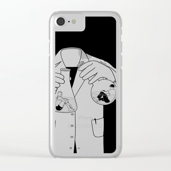 The Chemistry Between Us Clear iPhone Case